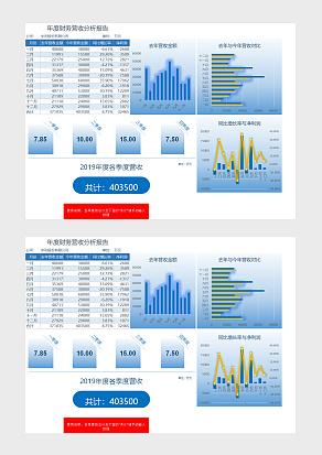 年度财务营收分析报告